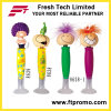 Fashionable Plastic Promotional Ball Pen with Logo