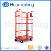 4 Sided Large Folding Metal Wire Roll Cage