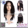 Kinky Curl Style Indian Human Hair Full Lace Wig