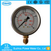 60mm Dial Double Scale Pressure Gauge En837-1 with Oil