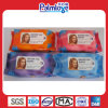 Facial Makeup Wipes, Lady Wet Tissues (WW-099)