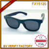 Fx15120 Wooden Sunglasses with Smoke Lens