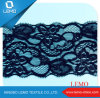 Fashionable Black Lace 100% Polyester Tricot Lace