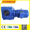 S Helical Worm Gearbox with Hollow Shaft Output