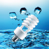 18W T4 Half Spiral Energy Saver CFL Lamp with CE (BNFT4-HS-B)