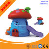Kids Amusement Park Plastic Small Toy Play House with Slide