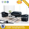 Modern Leather Leisure Sofa Wooden Frame Hotel Sofa (HX-S239)