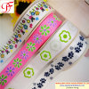 China Wholesale 100% Polyester Grosgrain Ribbon with Ink Printing