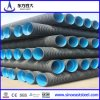 Black HDPE Double-Wall Corrugated Pipe