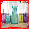 Wholesale 1000ml Wide Mouth Glass Bottle with Glass Mason Jars