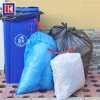 Custom Flat Bottom Plastic HDPE / LDPE Garbage Bag on Roll