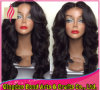 Fashion Style Indian Virgin Human Hair Glueless Full Lace Wig
