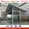 Wood Decorated Container House - Flat Pack