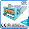 Beautiful Color Steel Roofing Sheet Glazed Tile Roll Forming Machine