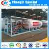 Factory Cheap Price 100gallons LPG Auto Gas Stations LPG Gas Station LPG Skid Station LPG Gas Bottling Plant LPG Toroidal Tank Mobile Filling Station to Nigeria
