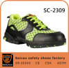 Saicou Customized Steel Toe Safety Shoes Yellow Work Boots and Summer Safety Boots Sc-2309