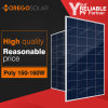 Moregosolar A Grade 12 Volt 160W 155W 150 Watt Poly Solar Panel for Home Use