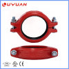 Ductile Iron Pipe Fittings Grooved Rigid Coupling with FM/UL Approval