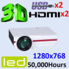 New Style Android LED Projector Video Projector