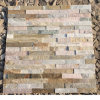 Natural Yellow Slate Stacked Stone Wall Cladding in Stock (SMC-SCP407)