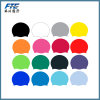 Customized Solid Swimming Cap 100% Silicone Swimming Hats