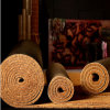 Gold Brown Natural Fiber Coco Coir Coconut Palm Fiber Carpet Rugs Matting Runner Rolls Flooring