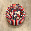 Classical Red Stripe Design Cat Bed Small Dog Bed Pet Accessories