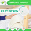 Quilted Bamboo Waterproof Crib Mattress Protector for Kids