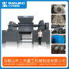 Recycling Machine Scrap Metal Two Shaft Tire Tyre Plastic PP Crusher