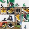 Kith Coca-Cola Jw Anderson Glitter_Gutter Bling Black Yellow Canvas Shoes