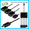 Micro USB to Charge and Data 4*USB OTG Hub Adapter