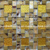 Glass Mix Stainless Steel Metal Mosaic Tile (SM230)