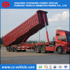 3 Axle 30m3 Dump Trailer 50tons Tipper Semi Trailer
