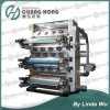 6 Color Flexo Printing Machine High Speed