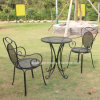 Home&Garden Metal Decorative Table and Chair