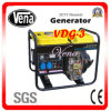 High Quality 3kw Diesel Generator with CE Approved (VDG-3)