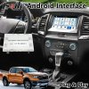 Android Video Interface GPS Navigation for Ford Ranger / Everest Sync 3 System Lvds Digital Display Bluetooth OBD