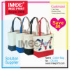 Imee Logo Printing Material Custom Promotional Fashion Eco Shopping Packing Packaging Jute Bag