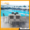 Popular Design Leisure Garden Dining Furniture Aluminum Chair Table Set