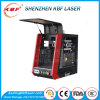 Metal Sheet/Pipe Fiber Portable 20W Laser Marking Machine for Color and Black Marking