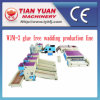Nonwoven Stiff Wadding and Glue Free Wadding Production Line