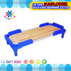 Kids Daycare Blue Plastic Wooden Beds for Preschool