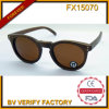 Fx15170 New Model Round Sunglasses Woith Brown Lens