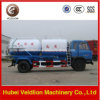 8000liter/8cbm/8m3/8000L Suction Sewage Tank Truck with Water Tank