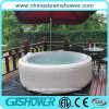 Computerized Blow up Outdoor Hot Tub SPA (pH050011 Grey)
