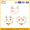 Funny Cute Cartoon Bell Cat Badge for Clothes, Caps, Bags