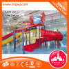 Fiberglass Kids Water Play Slide Equipment for Swimming Pool