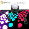 3W DMX RGB Stage Night Bar Party Brightness LED DOT Lamp