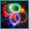 Fluorescence Round Wire Optical Mobile Phone USB Cable