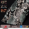 Wholesale PVC Snakeskin Embossing Synthetic Leather Faux Leather for Bags